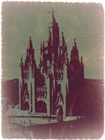 Tibidabo Barcelona Fine Art Print