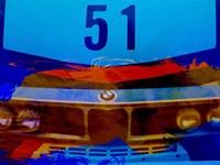 Bmw Racing Colors Fine Art Print