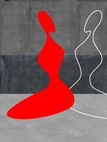 Red Grill Fine Art Print
