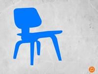 Eames Blue Chair Fine Art Print