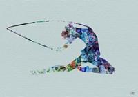 Dancer Watercolor 4 Framed Print