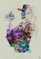 Dancer Watercolor 6 Framed Print