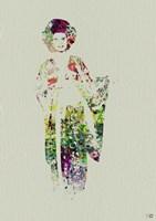 Kimono Dancer 1 Framed Print