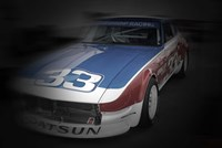 Nissan Dutsun Racing Colors Fine Art Print