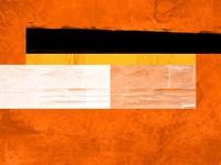 Orange Paper 4 Fine Art Print