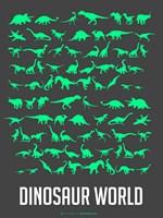 Dinosaur Green Fine Art Print