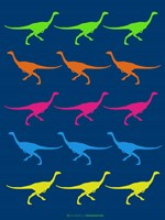 Dinosaur Family 3 Fine Art Print