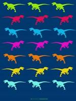 Dinosaur Family 5 Fine Art Print