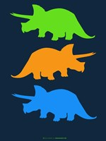 Dinosaur Family 6 Fine Art Print