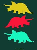 Dinosaur Family 7 Fine Art Print