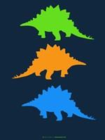 Dinosaur Family 8 Fine Art Print