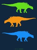 Dinosaur Family 10 Fine Art Print