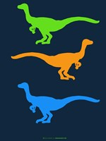 Dinosaur Family 12 Fine Art Print