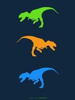 Dinosaur Family 14 Fine Art Print