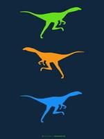 Dinosaur Family 16 Fine Art Print