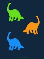 Dinosaur Family 18 Fine Art Print