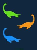 Dinosaur Family 20 Fine Art Print