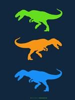 Dinosaur Family 22 Fine Art Print