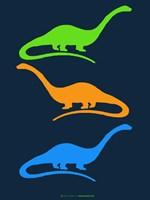 Dinosaur Family 25 Fine Art Print