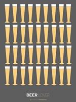 Beer Glasses Fine Art Print