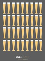 Beer Glasses Fine Art Print