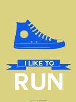 I Like to Run 2 Fine Art Print