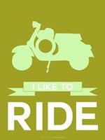 I Like to Ride 3 Fine Art Print