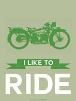 I Like to Ride 8 Fine Art Print