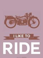I Like to Ride 9 Fine Art Print