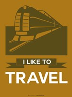 I Like to Travel 1B Fine Art Print