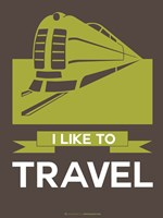 I Like to Travel 2B Fine Art Print