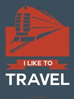 I Like to Travel 3 Fine Art Print