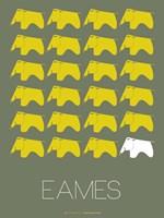 Eames Yellow Elephant 2 Fine Art Print