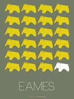 Eames Yellow Elephant 2 Fine Art Print