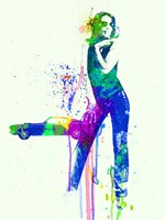 Mustang Girl 2 Fine Art Print