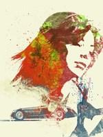 Ferrari Girl Fine Art Print
