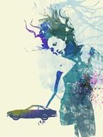 Ferrari Lusso Girl Fine Art Print