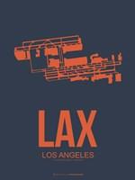 LAX Los Angeles 3 Fine Art Print