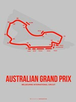 Australian Grand Prix 1 Fine Art Print