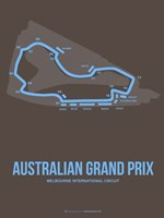 Australian Grand Prix 2 Fine Art Print