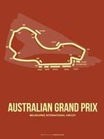 Australian Grand Prix 3 Fine Art Print