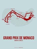 Monaco Grand Prix 3 Fine Art Print