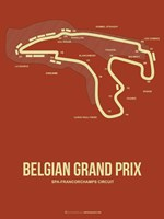 Belgian Grand Prix 2 Fine Art Print