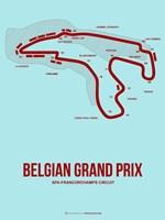 Belgian Grand Prix 3 Fine Art Print