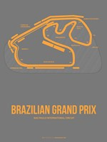 Brazilian Grand Prix 1 Fine Art Print