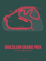 Brazilian Grand Prix 2 Fine Art Print