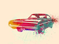 1967 Dodge Charger 1 Fine Art Print