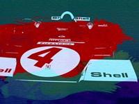 Le Mans Racing Car Detail Fine Art Print