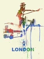 London Romance Fine Art Print