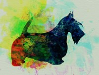 Scottish Terrier Watercolor Fine Art Print